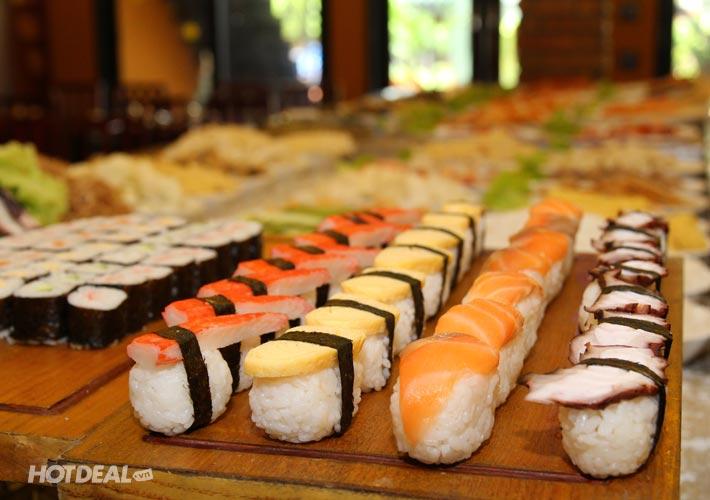 Buffet Trưa Hải Sản Lẩu Nướng Shushi - Nhà Hàng BBQ House