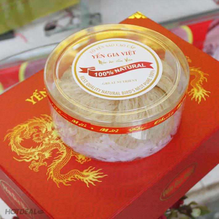 Yến Sào Cao Cấp Gia Việt 100G + 2 Tai Yến Huyết 20gr