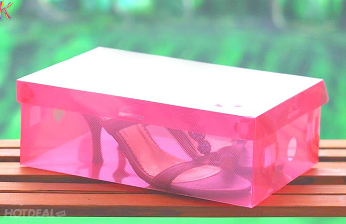Combo 5 Hộp Đựng Giày Trong Suốt Tiện Dụng