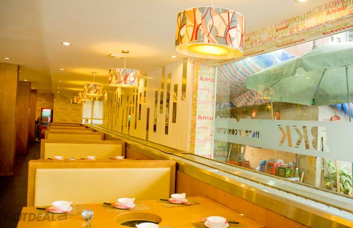 Buffet Lẩu Băng Chuyền Tại Nhà Hàng BKK