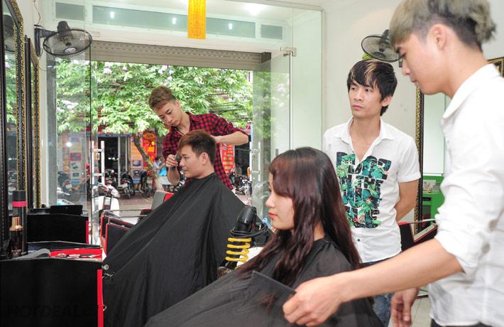 Một Trong 3 Gói Làm Tóc Tại Jame Kiên Hair Salon