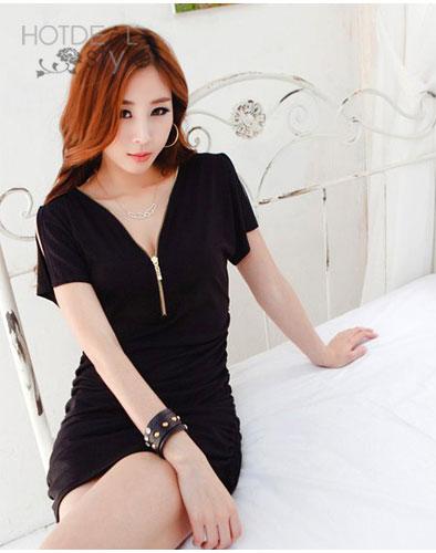 Đầm Body Dây Kéo