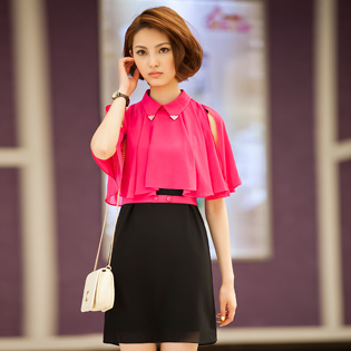 Đầm Áo Choàng Thanh Lịch