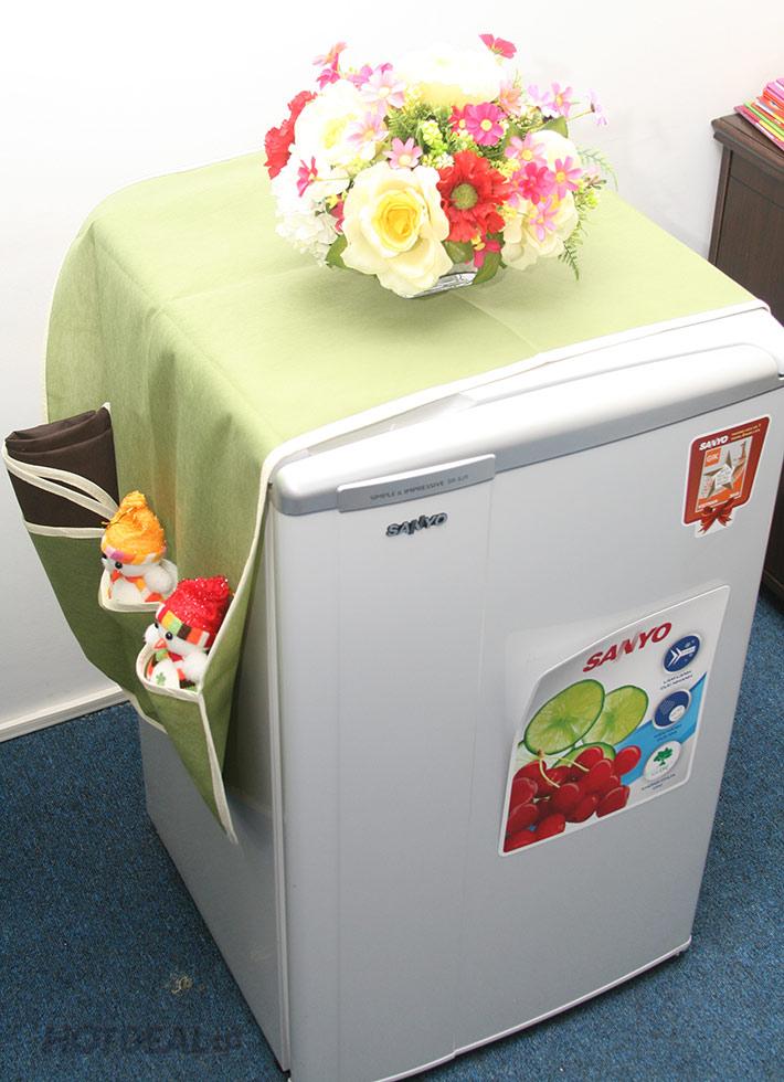 Combo 2 Tấm Phủ Tủ Lạnh