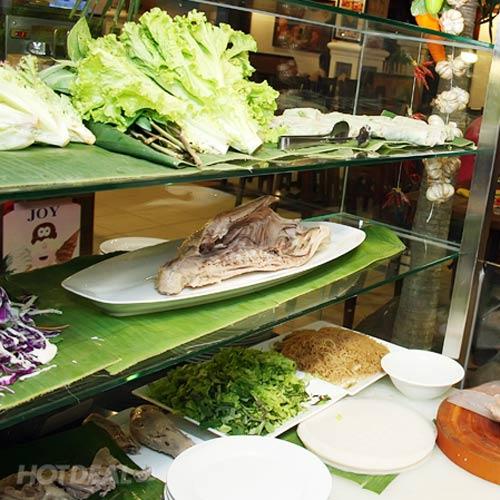 Buffet Gánh Buổi Trưa Tại Nhà Hàng Lion