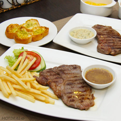 2 Phần Beefsteak Nhà Hàng Pháp - LE PETIT PARIS