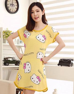 Đầm Ngủ Hello Kitty