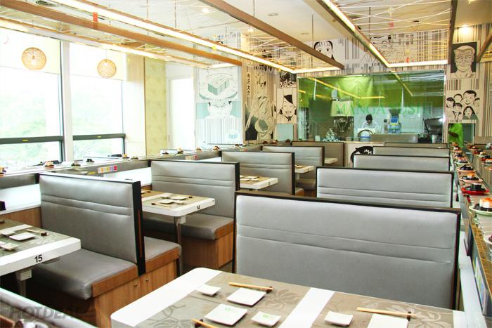 Buffet Băng Chuyền Tại Manga Sushi - Áp Dụng T2 - CN