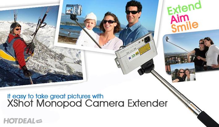 Gậy Chụp Hình Tự Sướng Monopod Kèm Remote