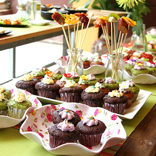 Tiệc Buffet Ăn Vặt Mini Tại Thế Giới Ăn Vặt Furin Việt Nam