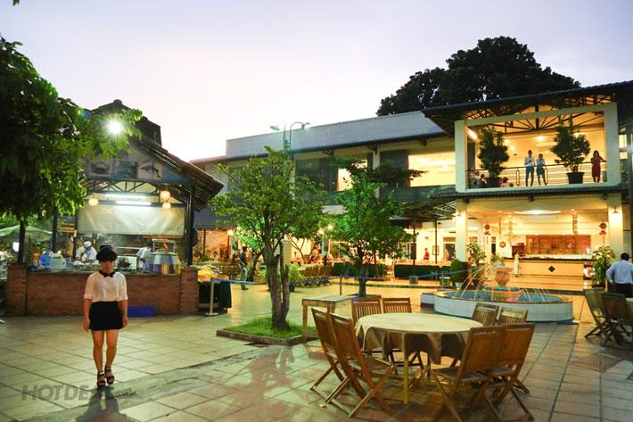 Buffet Tối Hải Sản NH Dìn Ký- Lẩu & Đồ Nướng - Từ Thứ 5 Đến CN