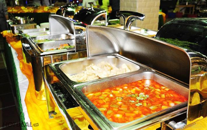 Buffet Tối NH Hải Sản Dìn Ký- Lẩu & Đồ Nướng- Từ Thứ 5 Đến CN