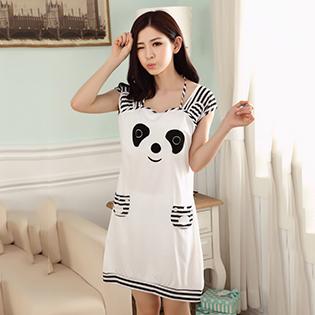 Đầm Ngủ Panda Đáng Yêu