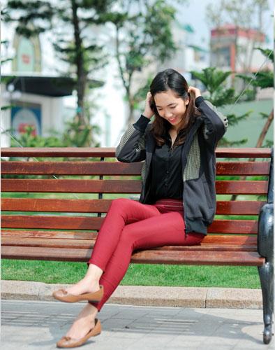 Quần Skinny Cạp Cao Cho Mùa Thu Đông 2013