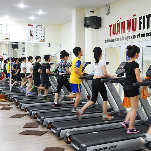 1 Tháng Tập Gym Tại Tuấn Vũ Fitness 88 Lò Đúc