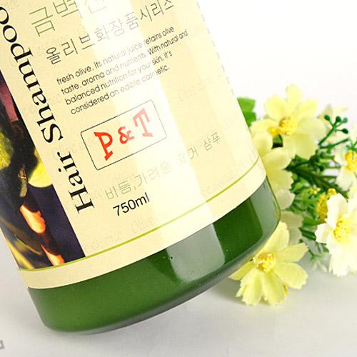 Bộ Quà Tặng Dầu Gội Olive Romantic 750ml