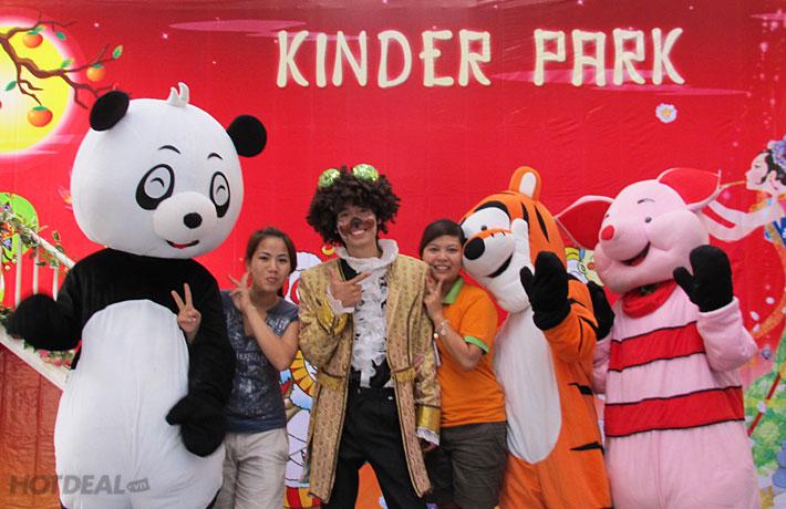 Vé Vui Chơi Cho Bé Tại KINDER PARK