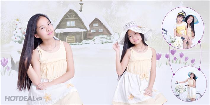 Chụp Ảnh Gia Đình Tại Angel Phạm Studio