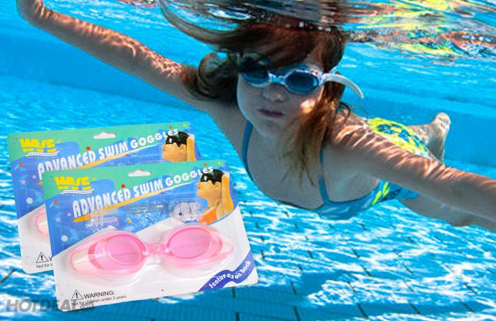 Combo 2 Kính Bơi Kèm Bịt Tai, Bịt Mũi