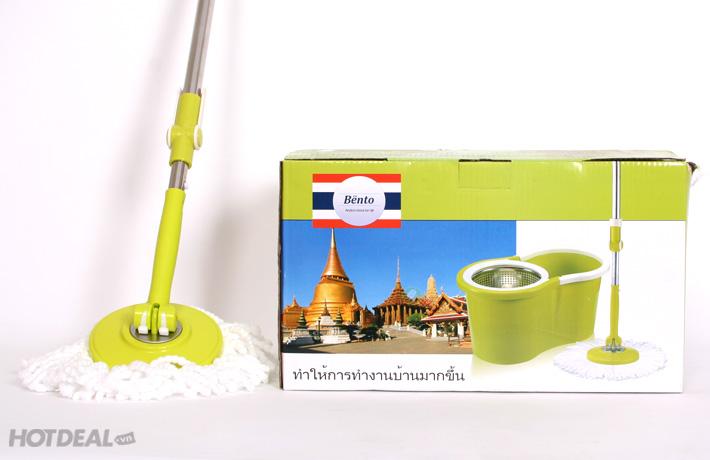 Bộ Sản Phẩm Cây Lau Nhà 360 Độ Bento Thái Lan.