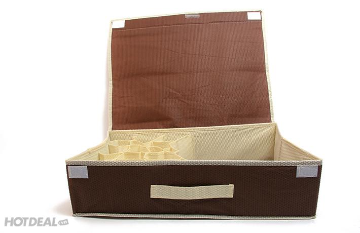 bán hộp đựng đồ lót có nắp 16 ngăn hà nội 5