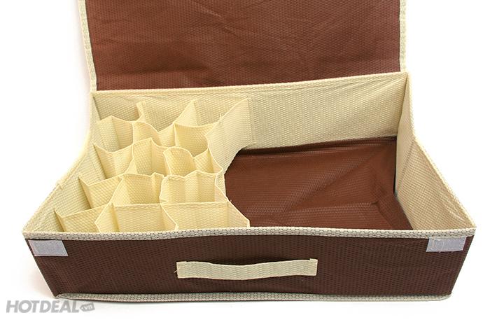 bán hộp đựng đồ lót có nắp 16 ngăn hà nội 3
