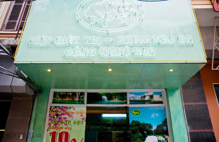 Triệt Lông Vĩnh Viễn Tại Dusan Spa.
