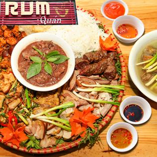 Mẹt Lợn Mán 7 Món Cho 04 Người  Tại Rum Quán