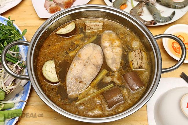 Lẩu Mắm Miền Tây Dành Cho 2-3 Người Tại Quán Cô Hai Homecook