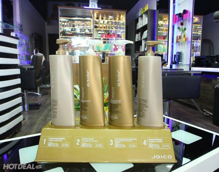 Trọn Gói Cắt + Uốn/ Duỗi/ Nhuộm + Gội + Sấy + Hấp Dầu Tại Salon Dr. Hiệp