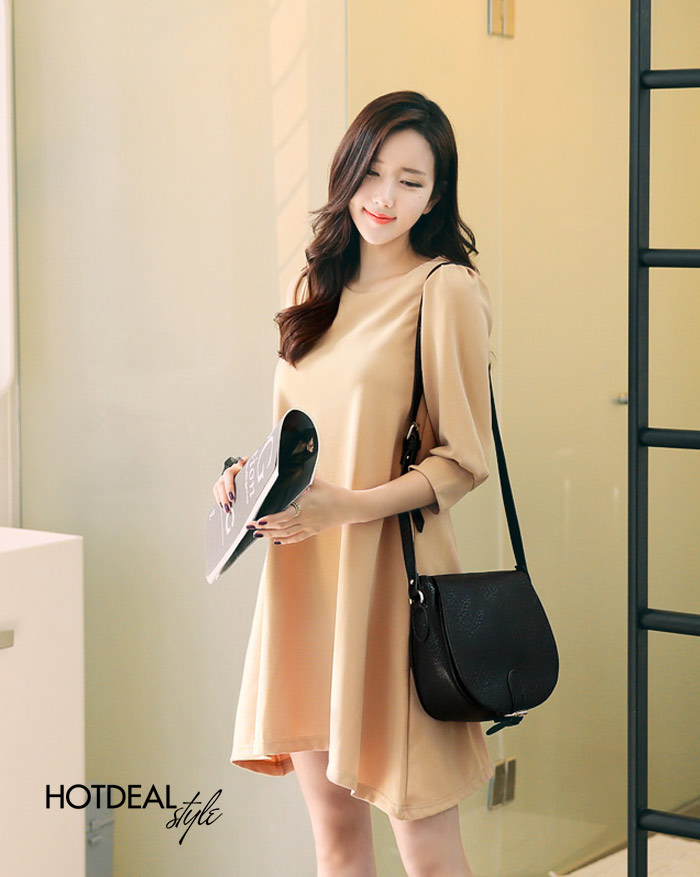 Đầm Yumi Oversize Tay Lỡ