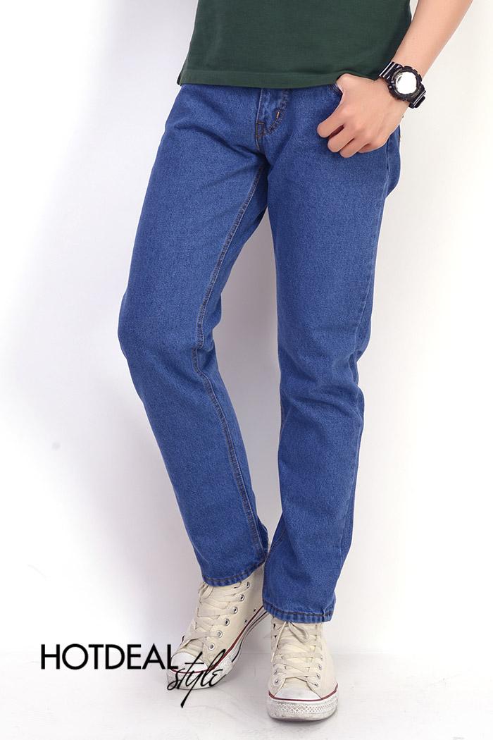 Quần Jeans Nam Cotton