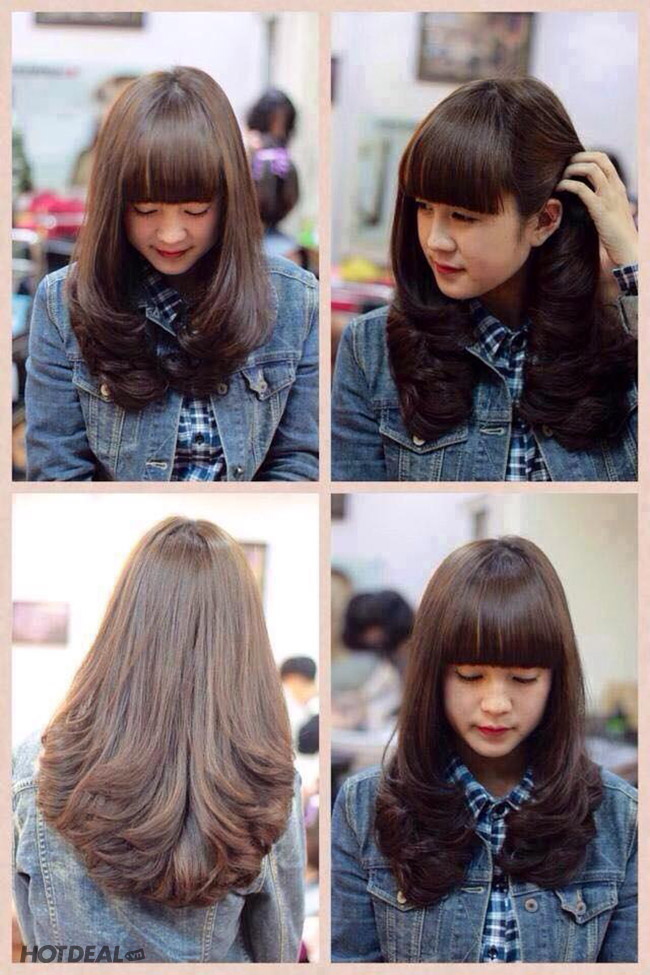 Trọn Gói Uốn/Duỗi/Nhuộm/Bấm Xù/Phục Hồi Tóc Tại Vinh Hair Salon