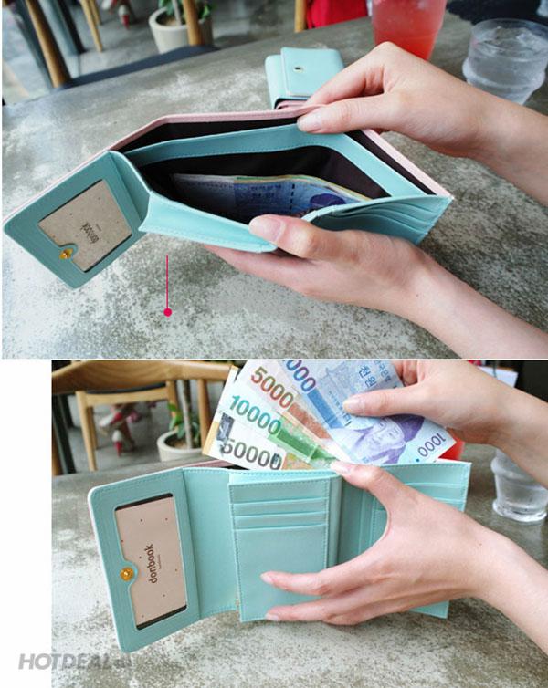 Ví Cầm Tay Crown Wallet