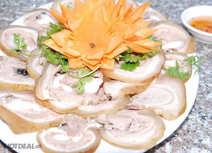 Combo Bò Cuốn Rau Rừng + Bánh Tráng Dành Cho 2 Người