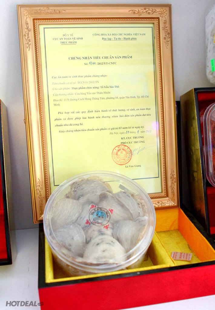 Chè Tổ Yến/Súp Yến/Súp Vi Cá Tại Cửa Hàng Yến Sào Thiên Nhiên
