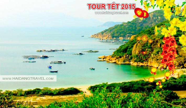 Tour Tết Ất Mùi - Bình Ba - Nha Trang 3N3Đ KS 2*