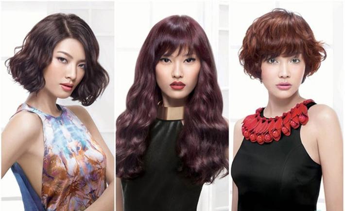 Uốn/ Duỗi/ Nhuộm/ Bấm Xù + Cắt + Gội + Sấy Tại Hair Salon Aaron