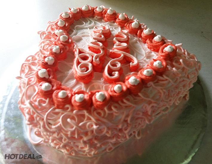 Bánh Kem Trà Xanh/ Bánh Kem Bắp Sữa Tươi Tại Sweetie Cake