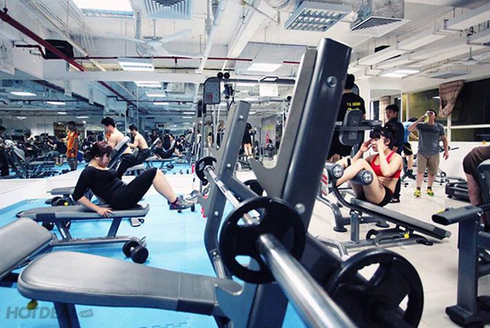 Thẻ Tập GYM 1 Tháng Không Giới Hạn Tại CLB Adam & Eva Ngọc Khánh