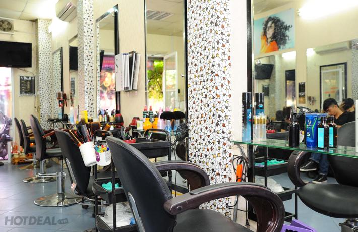 Lung Linh Tóc Xinh Cùng Salon Pha Lê.