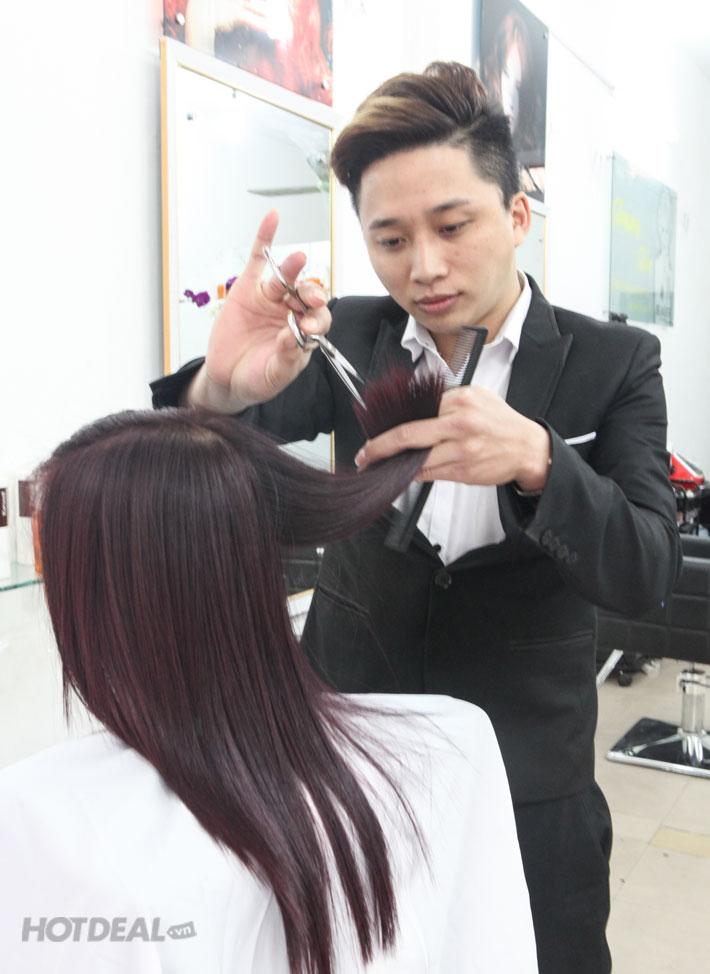 Làm Tóc Đẳng Cấp Tại Salon Trung Tóc - Cây Kéo Vàng Sài Gòn