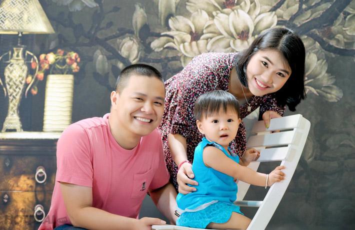 Chụp Ảnh Gia Đình Tại Phúc Thịnh Studio.