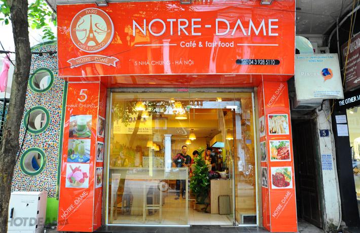 Buffet Nem Giòn Tại Notre - Dame - Số 5 Nhà Chung