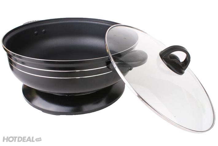 Chảo Lẩu Điện Chống Dính Đa Năng Chafing Dish