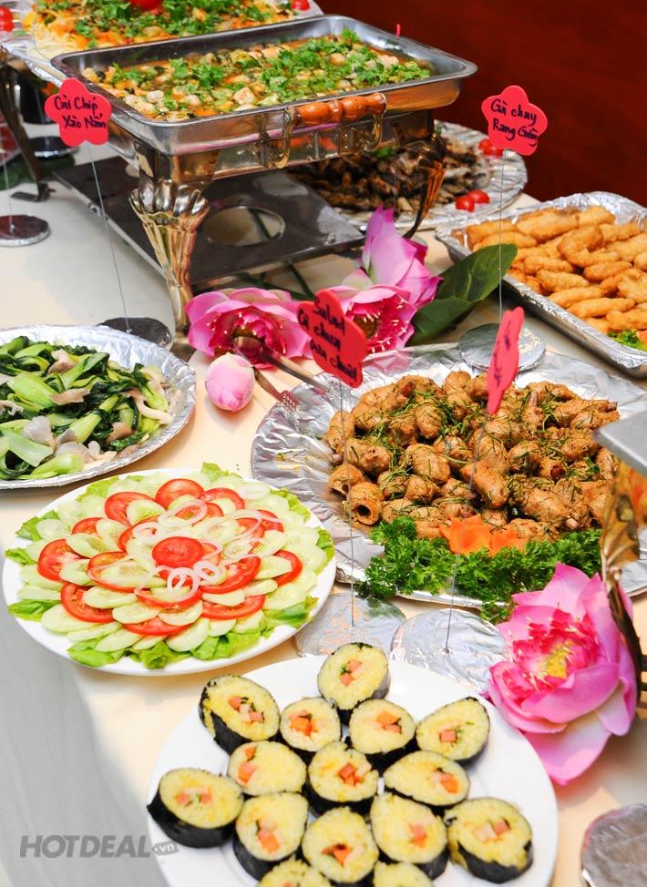 Buffet Chay Thanh Tịnh Tại Nhà Hàng Bồ Đề Trai