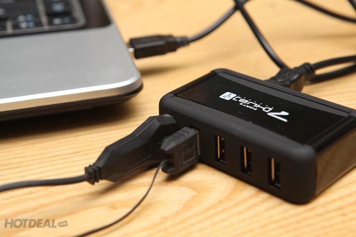 Bộ Chia Cổng USB Công Nghệ Mới (7 Cổng)