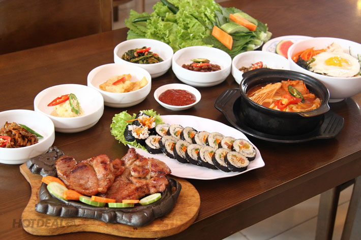 Ăn Ngon, Giá Sốc – 1 Trong 2 Set Menu Tại NH Sườn Nướng Hàn Quốc