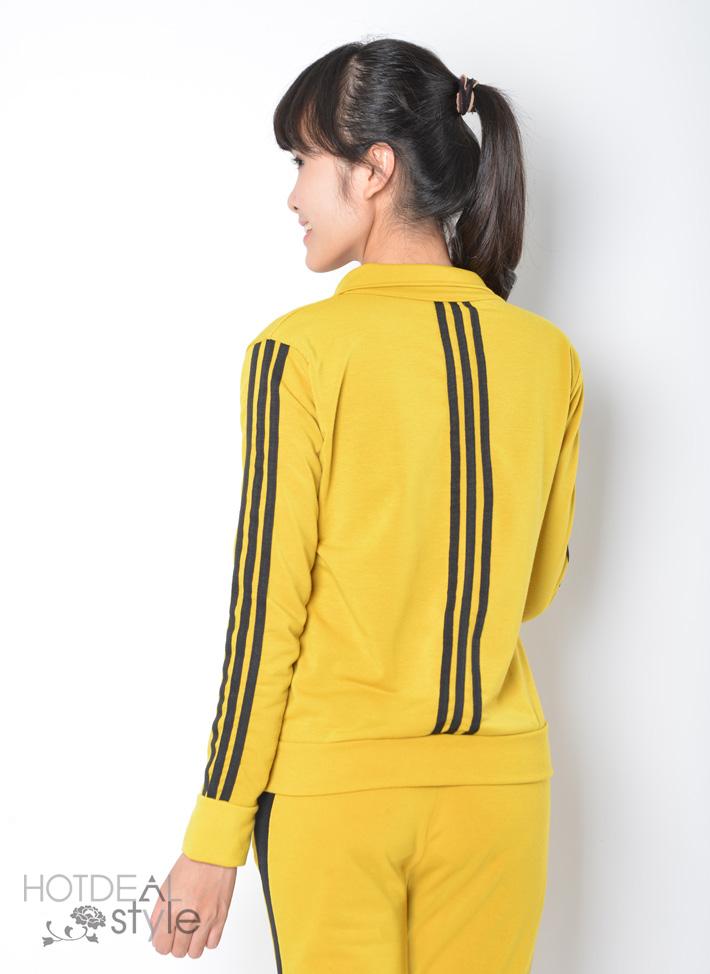 Bộ Thể Thao Kiểu Dáng Adidas