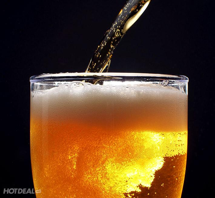 Buffet Tối + Xem Múa Rối Nước + Bia, Nước Ngọt Không Giới Hạn